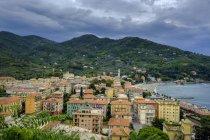 Італія, Чинкве-Терре, затока Леванто — стокове фото