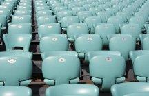 Croatia, Dalmatia, Sibenik, Row of seats of open air theater — Stock Photo