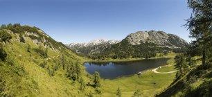 Autriche, Styrie, Tauplitz, Totes Gebirge, Lac Grosssee — Photo de stock