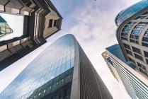 United Kingdom, England, London, modern financial disctrict, Liverpool street — Stock Photo