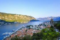 Montenegro, Baia di Kotor, Kotor, centro storico, chiesa Gospa od Zdravlja — Foto stock