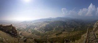 Truthahn, Bergama, Blick von der Akropolis — Stockfoto