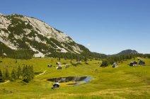 Austria, Stiria, Tauplitz, Totes Gebirge, Cabine alpine — Foto stock
