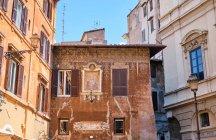Старі будинки, Рим, Італія. — стокове фото