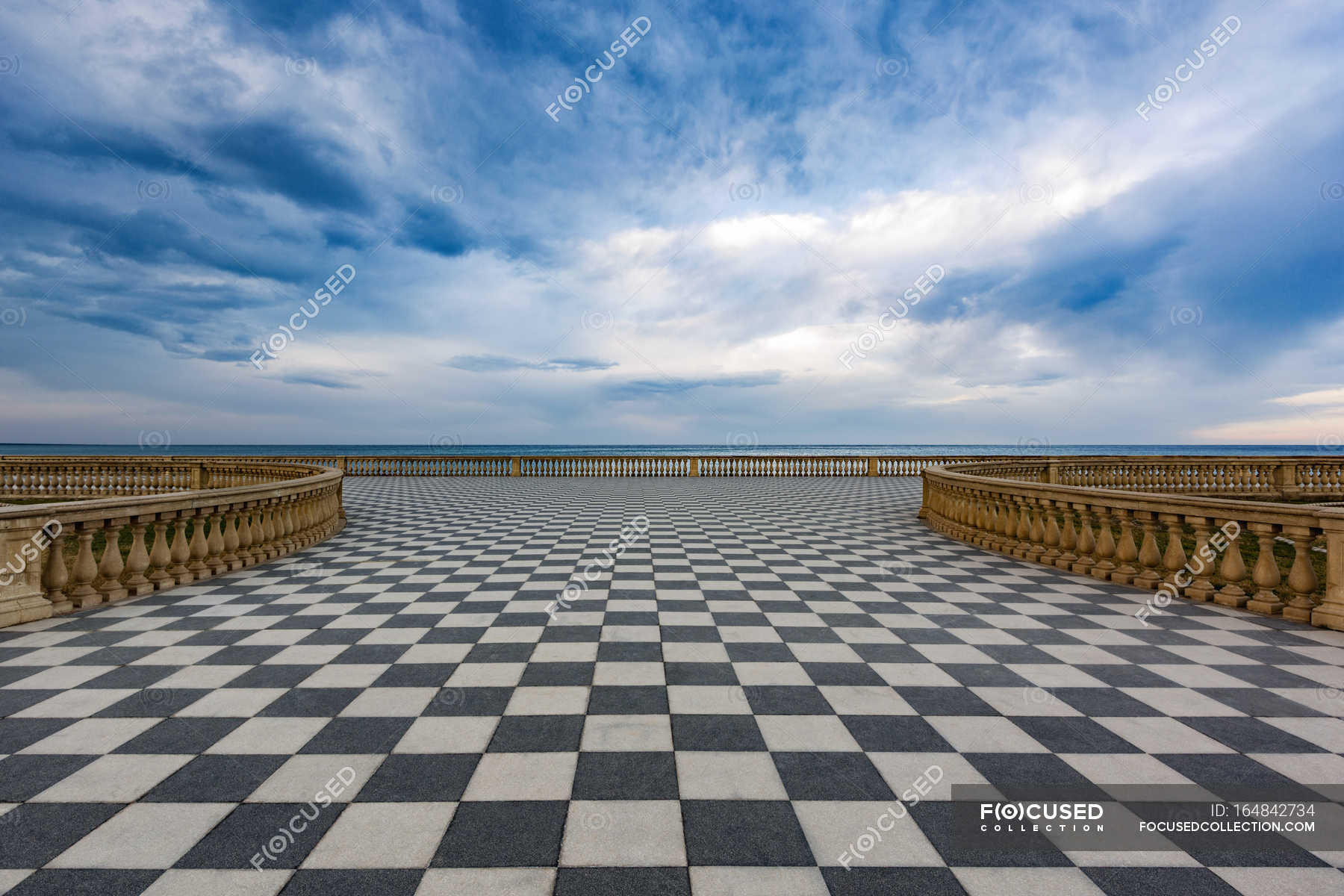 Terrazza Mascagni, Livorno — Stockfoto | #164842734