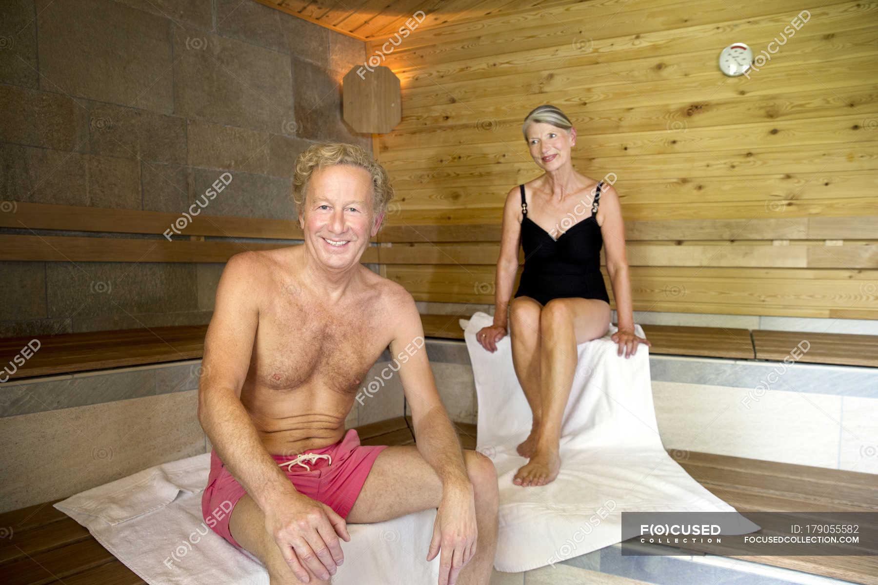 Сектор пожилых в бане #2