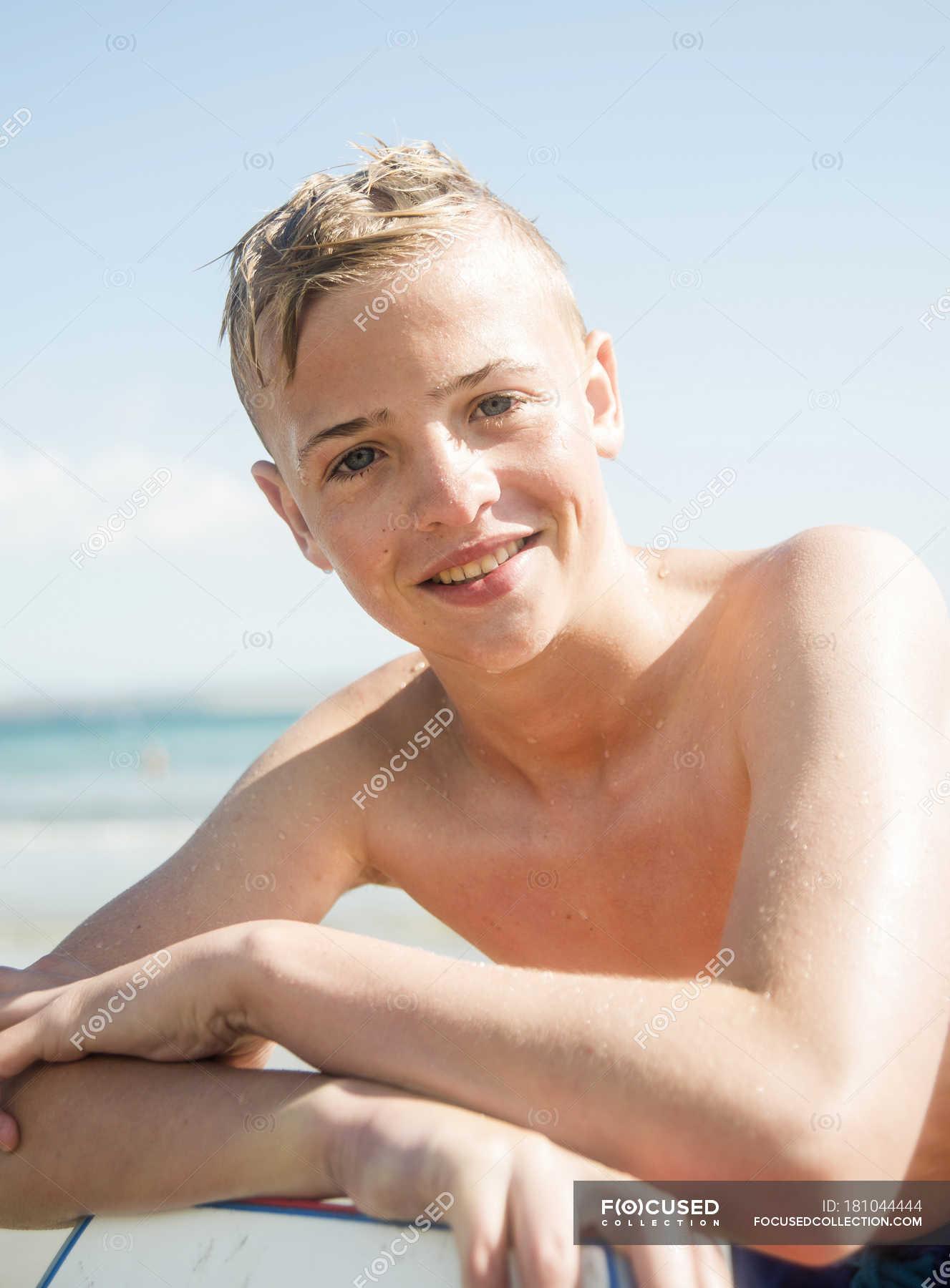 Teen Boys Beach