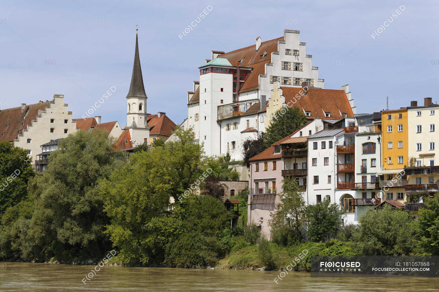 Wasserburg Am Inn Germania germania, baviera, upper bavaria, wasserburg am inn, centro