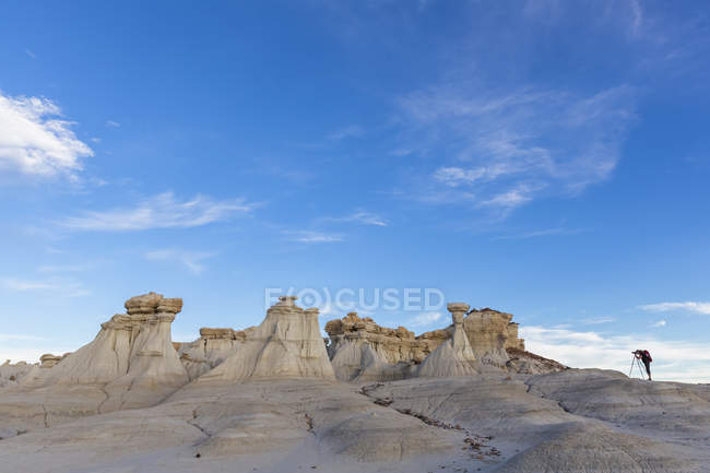 Sandstone rock formation — Stock Photo