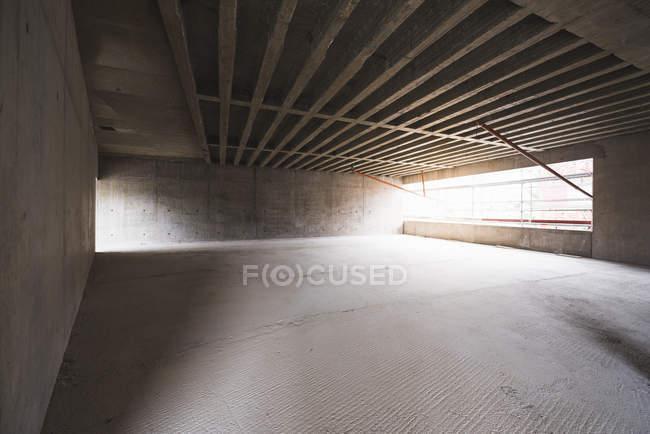 Edificio in costruzione — Foto stock