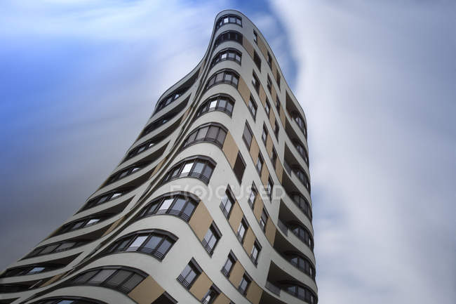 Torre del apartamento moderno, Munich - foto de stock