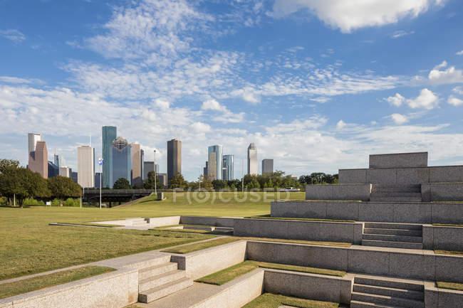 Memorial di agenti di polizia di Houston — Foto stock