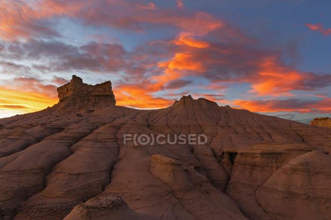 Formation de grès rocheux — Photo de stock