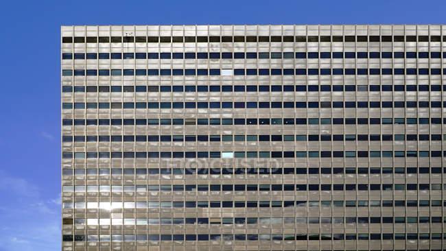 Facade of modern office building — Stock Photo