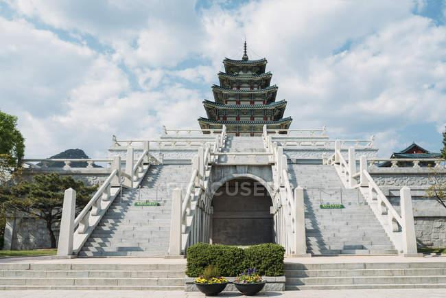 Musée national folklorique de Corée — Photo de stock