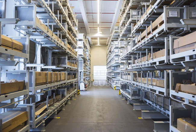 high rack factory warehouse stock photo 164881642