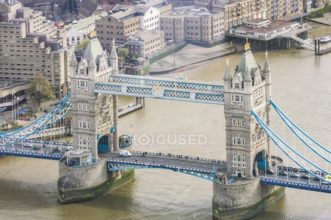 Tamise et Tower Bridge — Photo de stock