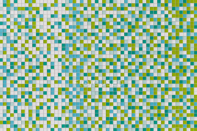 Coloured tiles made of glass — Stock Photo