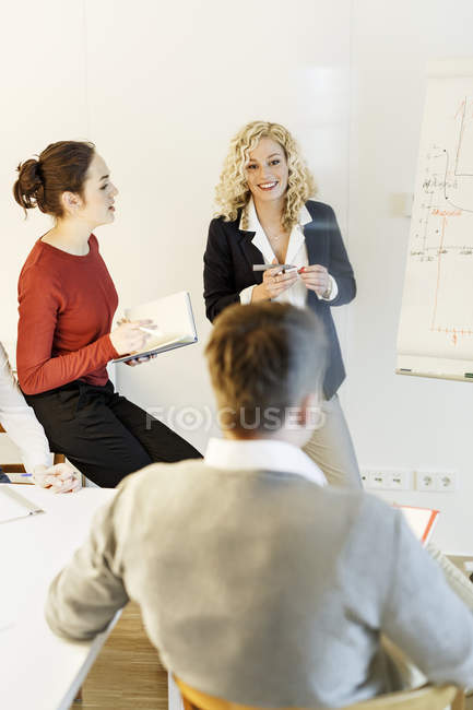 Business meeting in office — Stock Photo