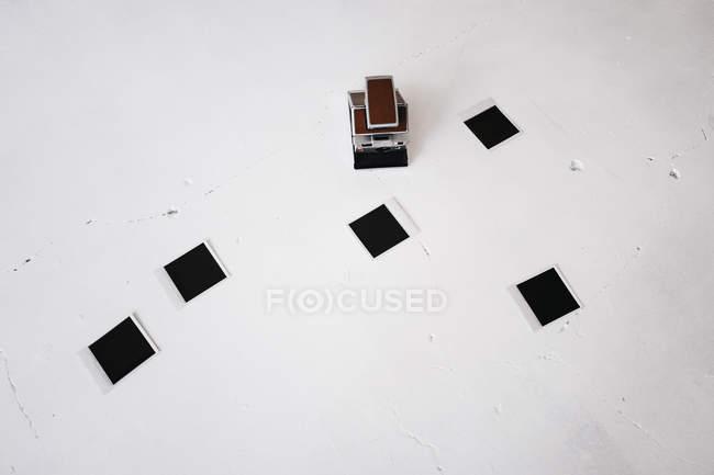 Миттєвий ретро камери — стокове фото