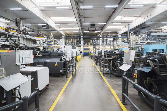 Machines in industrial factory — Stock Photo