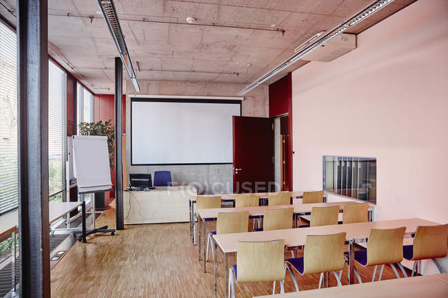 Interior of Empty training room — Stock Photo