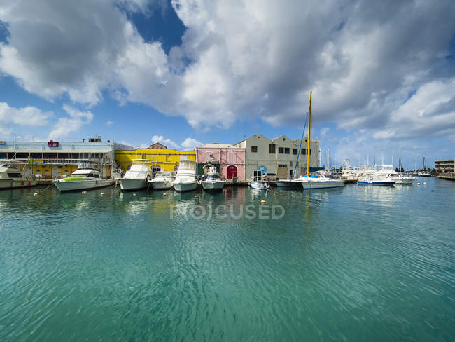 Harbor at Independence Square, Barbados — Stock Photo