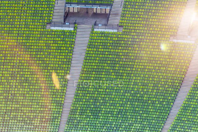 Grandstand em um estádio, Munique — Fotografia de Stock