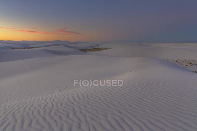 Білі піски національним пам'ятником краєвид — стокове фото