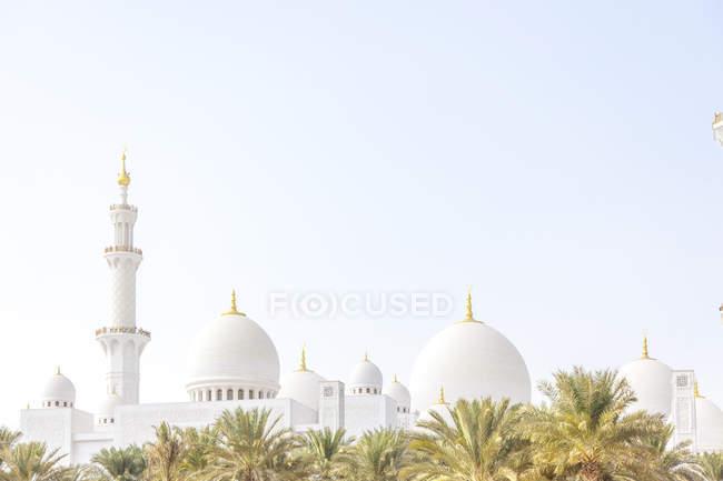 Emiratos Árabes Unidos, Abu Dabi, Mezquita Sheikh Zayed - foto de stock