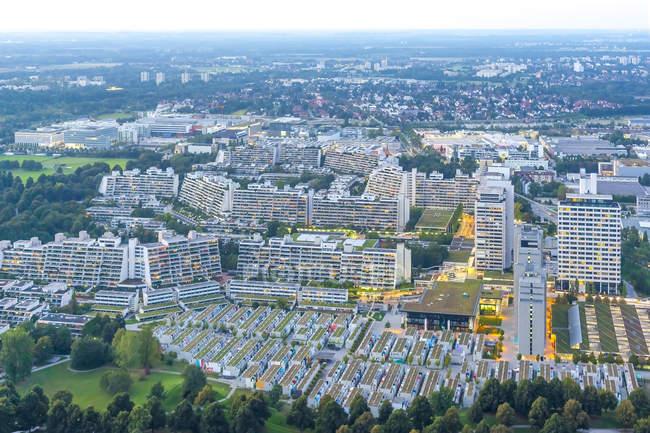 Das Olympische Dorf, München — Stockfoto