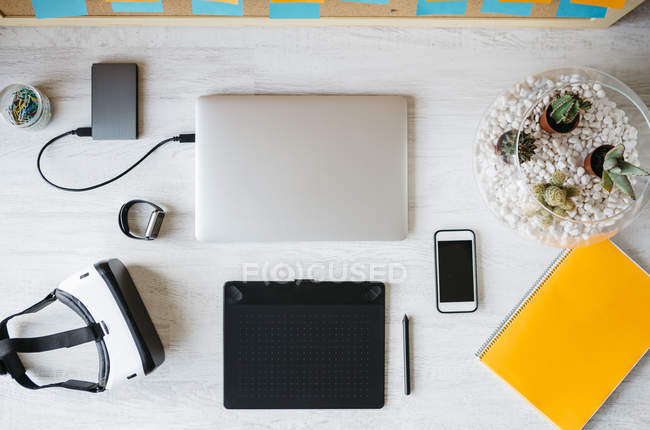 Workplace at home office — Stock Photo