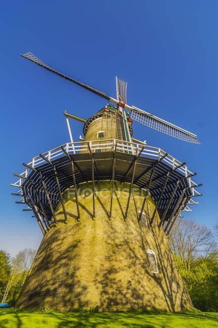 Wind mill 'De Seismolen', Middelburg — стоковое фото