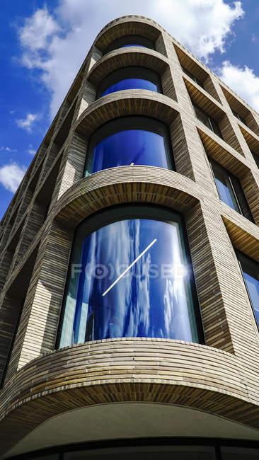 Coin de l'immeuble de bureaux, Londres — Photo de stock