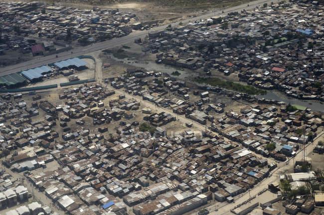 Трущоб привести солей, Гаити — стоковое фото