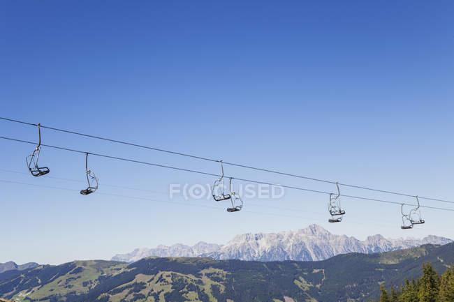 Панорама Mountain, Австрія — стокове фото
