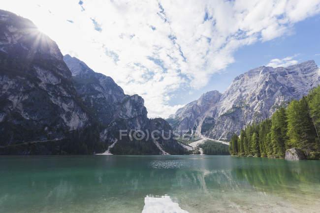 Parque Natural Fanes-Sennes-Prags, Itália — Fotografia de Stock