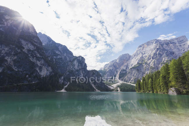 Fanes-Sennes-Prags Nature Park, Italy — Stock Photo