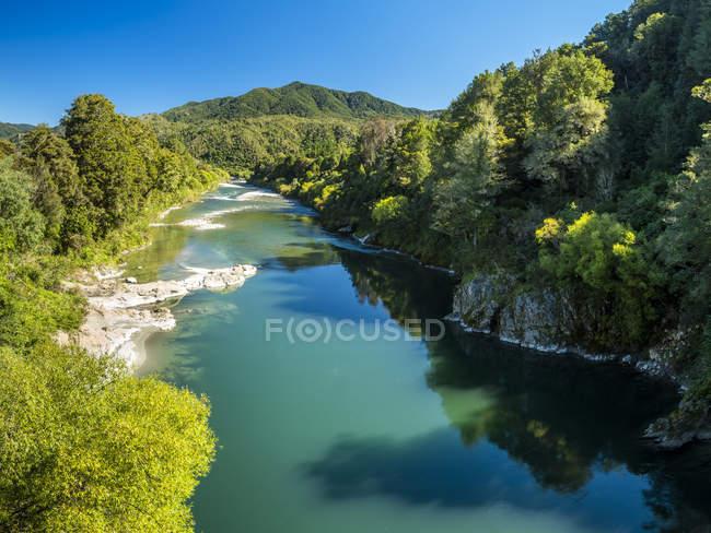 Река Буллер и ущелье — стоковое фото