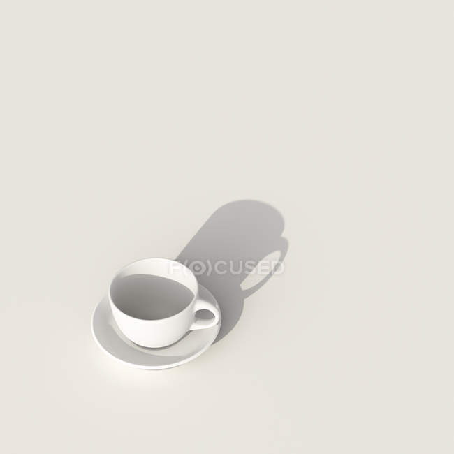 Empty coffee cup — Stock Photo