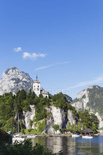 Lago Traunsee, Austria — Foto stock