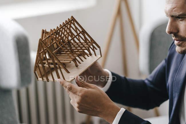 Архитектор изучения модели — стоковое фото