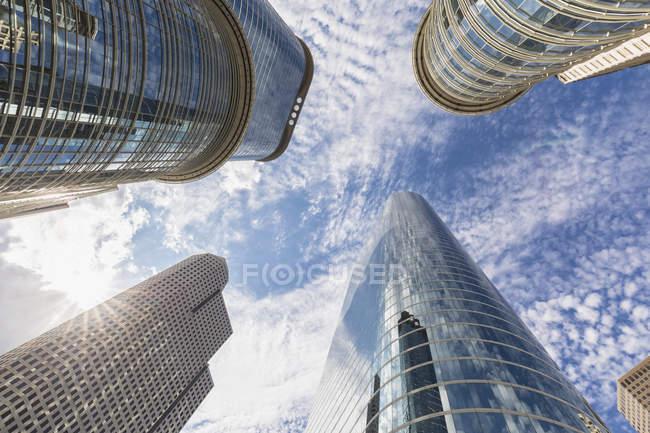 Chevron Building on 1400 Smith Street — Stock Photo