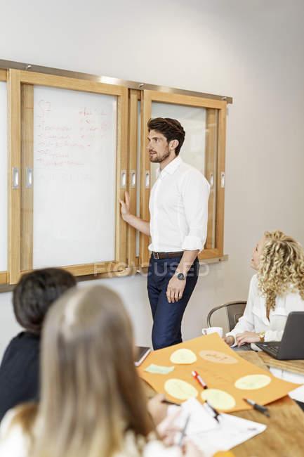 Creative informal meeting — Stock Photo