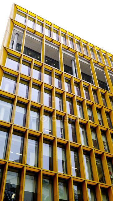 Facade of office building, London — Stock Photo