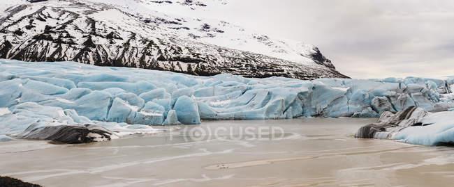 Lingue del ghiacciaio Vatnajokull — Foto stock