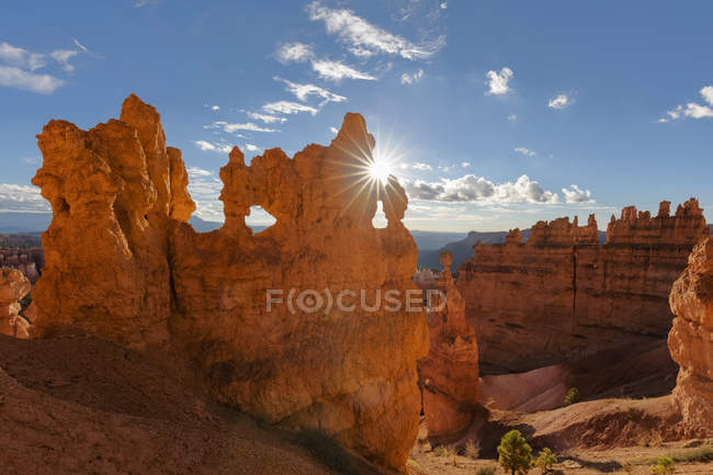 View of rock fromations  during daytime — Stock Photo