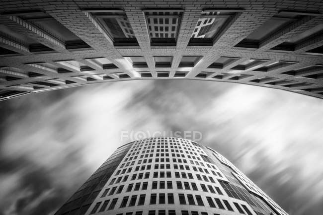 Germany, Cologne, facade of ABC Tower from below — Stock Photo