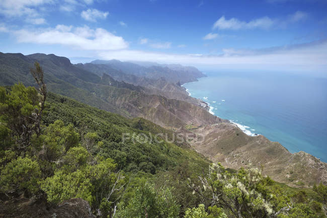 Anaga mountains, Tenerife, Spain — Stock Photo
