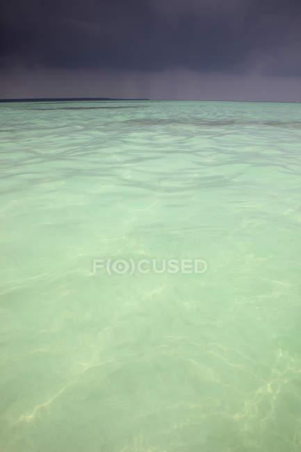 Пляж на острове Саона — стоковое фото